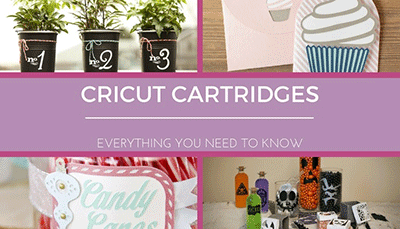 Cricut cartridges guide